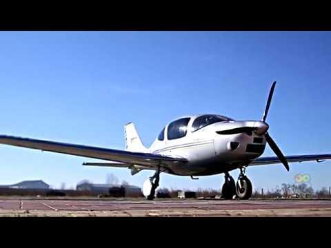 Видео Полет на самолете в подарок москва