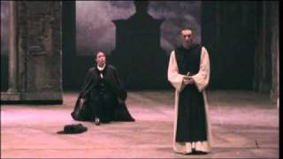 "Paolo Battaglia sings Padre Guardiano in La Forza del Destino ""Chi mi cerca"" 1 part duet"