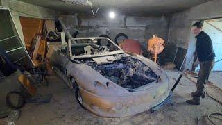 Оживляем советский спорткар Лаура 2! Двадцать лет в гараже!