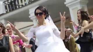 Самый яркий красивый зажигательный танцевальный Свадебный клип город Брест. САШАТАНЯ. 2015