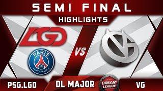 PSG.LGD vs VG Semi Final Stockholm Major DreamLeague Highlights 2019 Dota 2 thumbnail