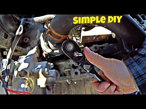 Honda Civic 2006-2011 Thermostat Removal And Replacement DIY