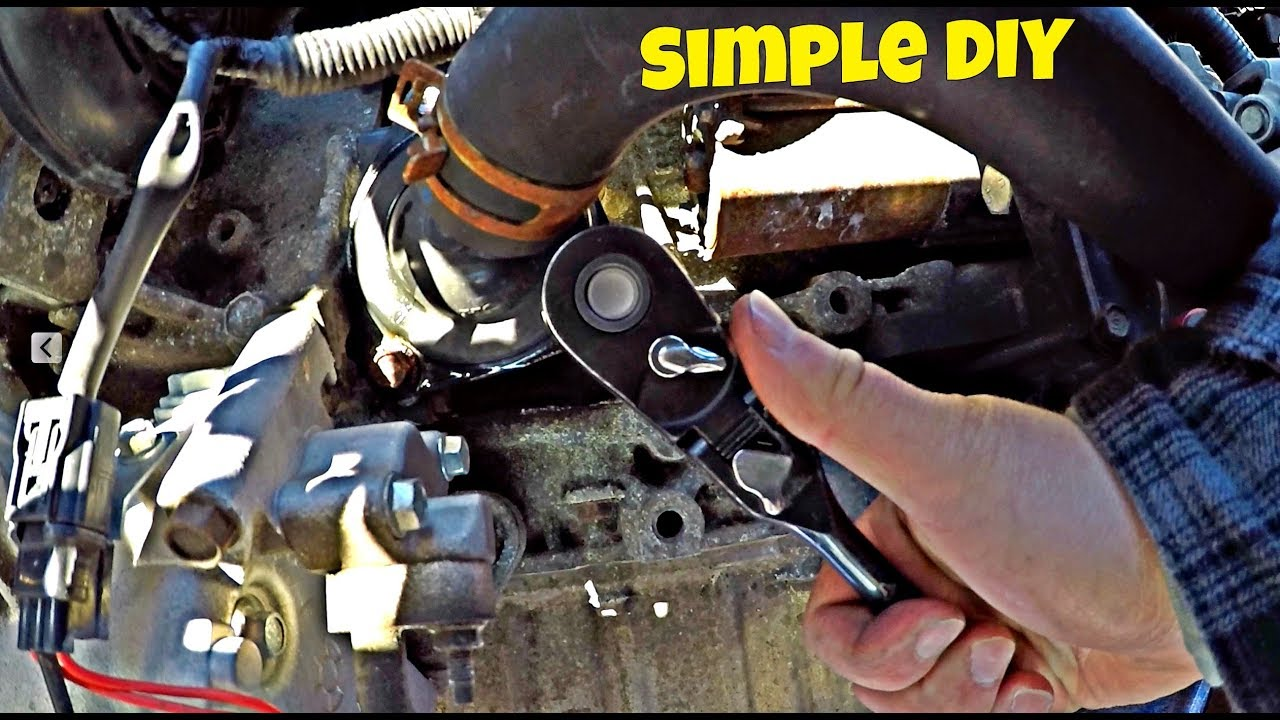 Honda Civic 2006 2011 Thermostat Removal And Replacement Diy Youtube Car Diagram