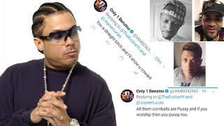 Benzino Wants To Fight Me & Joyner Lucas! GRANDPA RANT AGAINST STANS!