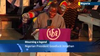 Chinua Achebe Funeral: Nigerians mourn passing of celebrated African author of Things Fall Apart