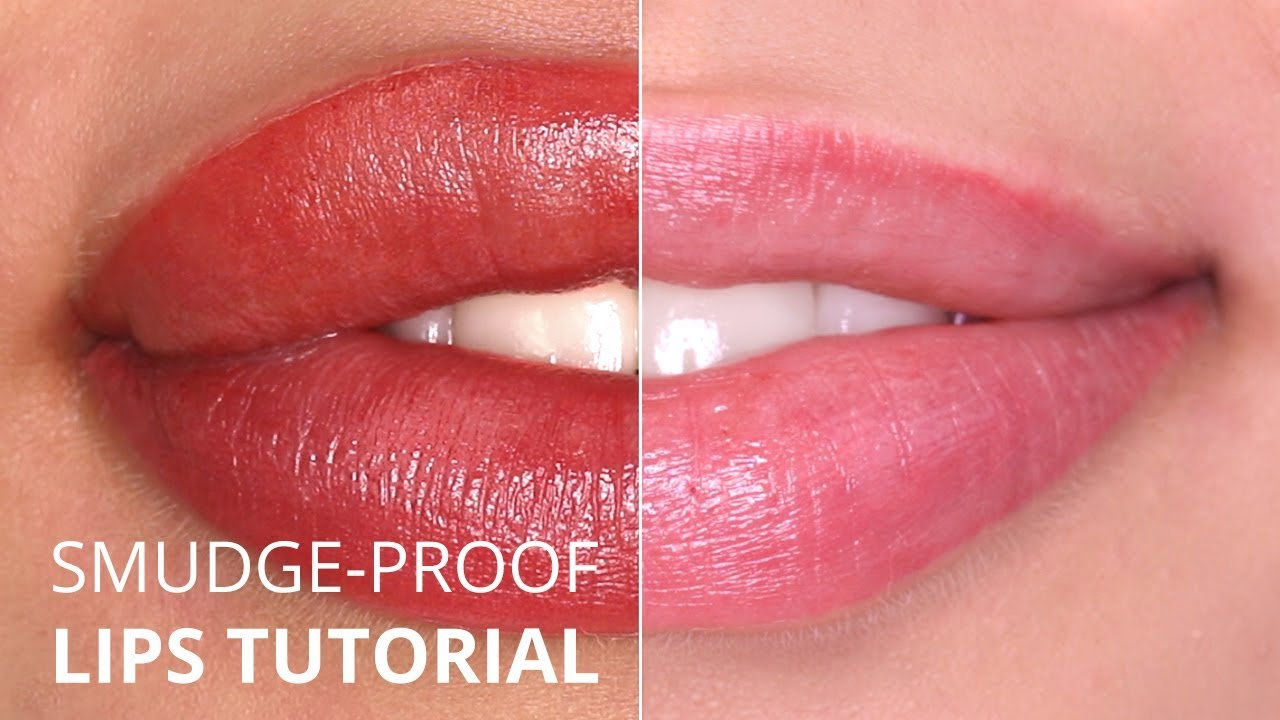 Perfect Smudge Proof Permanent Makeup Lips Tutorial Youtube