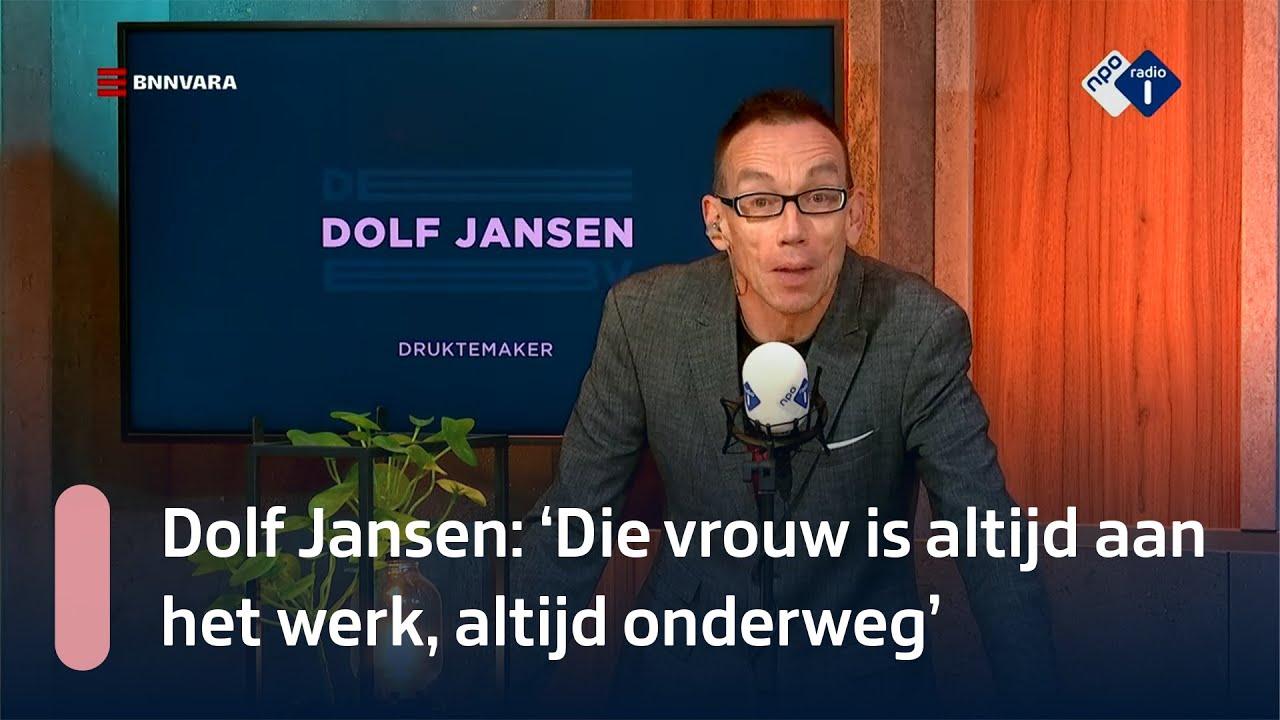 Druktemaker Dolf Jansen over Queen Elizabeth   NPO Radio 1