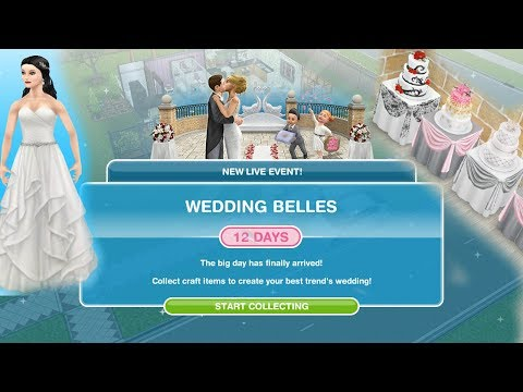 Simsfreeplay  Wedding Belles Live Event