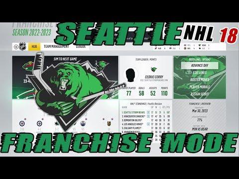 "NHL 18: Seattle Franchise Mode #21 ""1-800 AGENT C!!"""