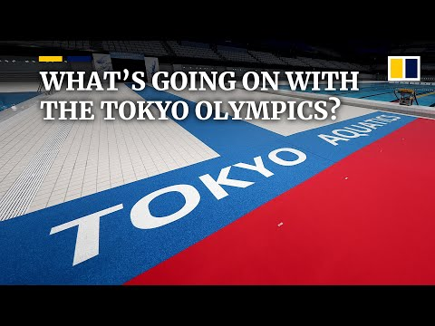 What's going on with the rescheduled 2020 Summer Olympic Games in Tokyo?