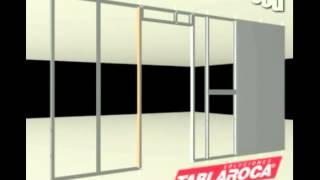 TABLAROCA Instalar muros de TABLAROCA