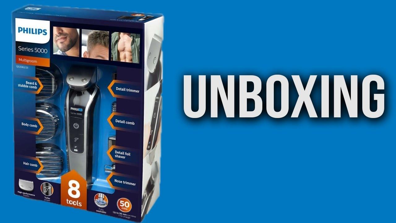 מעולה פתיחת קופסא : מכונת גילוח Philips QG3362 - YouTube OP-86