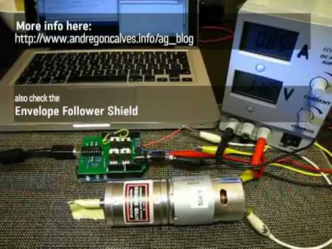 H-Bridge Shield - Large Motor Control for Arduino