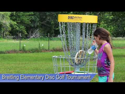 Breitling Elementary School First Disc Golf Tournament 4th and 5th Graders