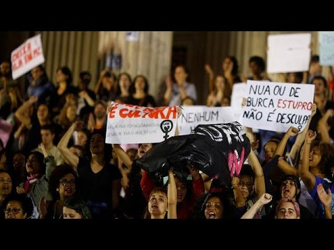 Brazil police identify 4 suspects in gang rape of 16-year-old girl