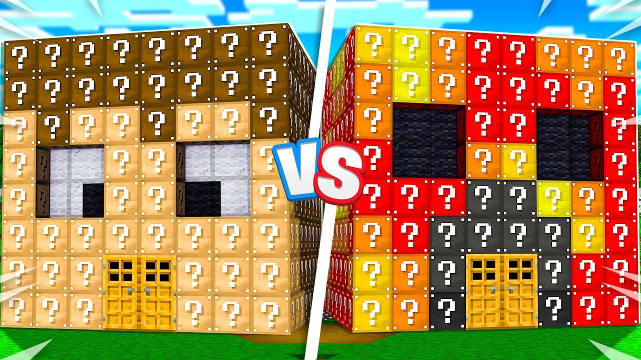 Download Preston vs FGTeeV Lucky Block House Battle! - Minecraft