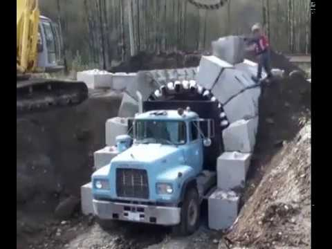 Interesting Arch Construction Technique