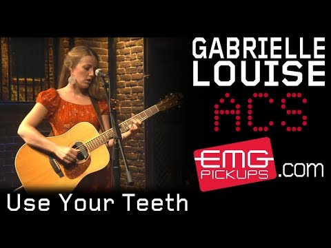 Gabrielle Louise gives acoustic performance Use Your Teeth, EMGtv
