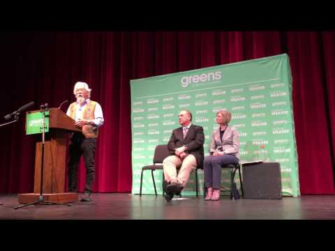 Speech of Dr. David Suzuki at BC Green Party Rally - 20170418