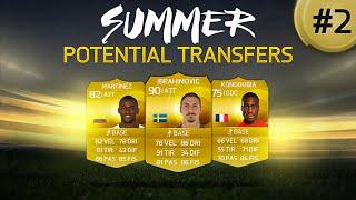 FIFA 15 ULTIMATE TEAM - SUMMER POTENTIAL TRANSFERS #2 - MILAN RE DEL MERCATO?