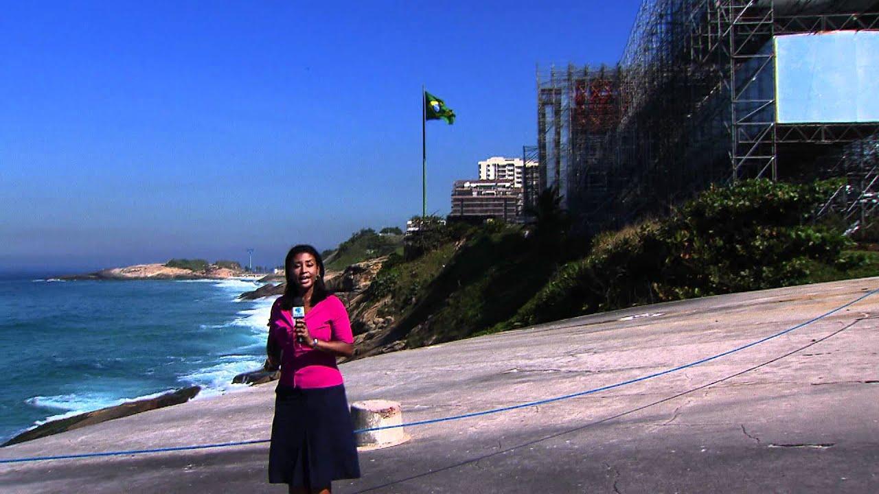 Começa por toda a cidade a montagem de estruturas para a Rio+20
