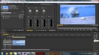 Premiere Pro CS6 - С чего начать?