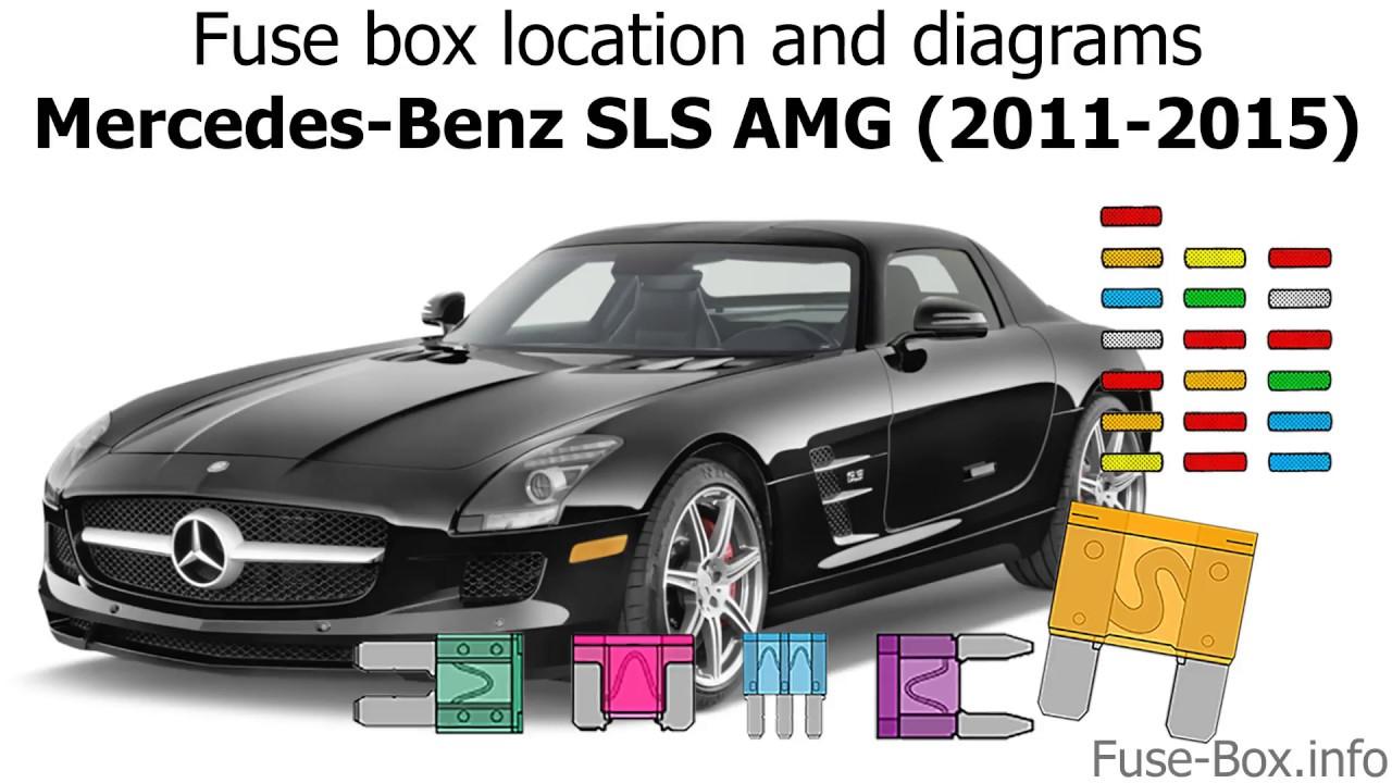 fuse box location and diagrams mercedes benz sls amg 2011 2015  [ 1280 x 720 Pixel ]