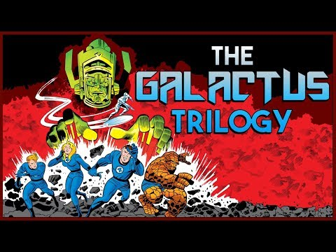 THE GALACTUS TRILOGY - Lee and Kirby's Cosmic Marvel Epic