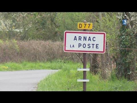 Un village en Limousin : Arnac-la-Poste  (Haute-Vienne)
