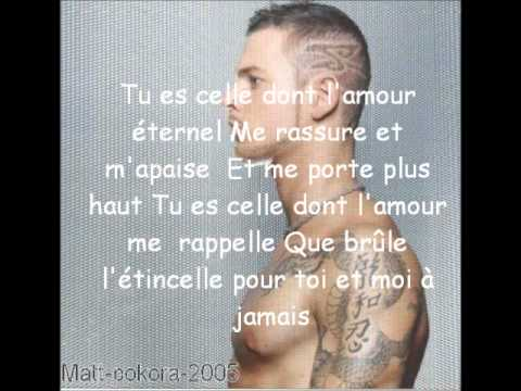 matt pokora-celle avec paroles