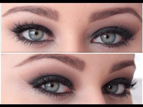 Dramatic Black Smokey Eye Makeup Tutorial ♡ - YouTube Dramatic Black Eye Makeup