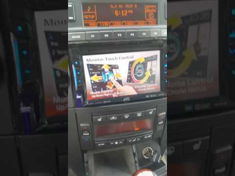 04 Cadillac Srx Double Din Install Retain Dic