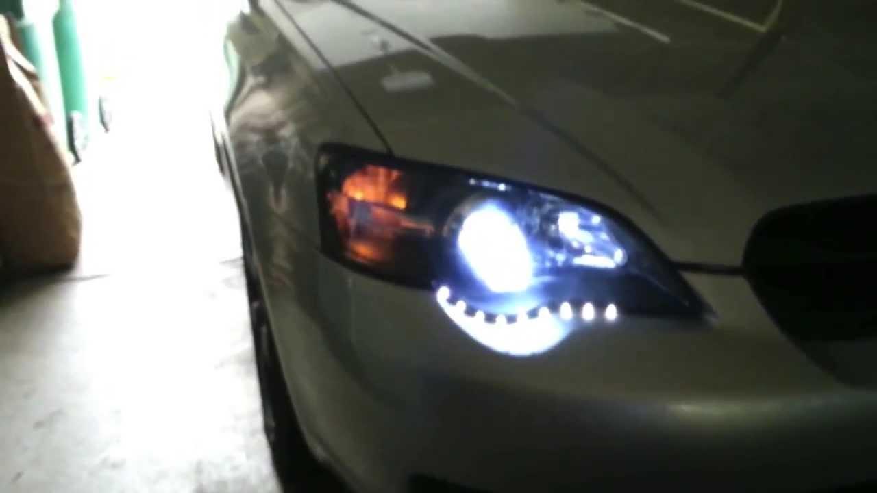 2006 subaru legacy headlight mod walkaround