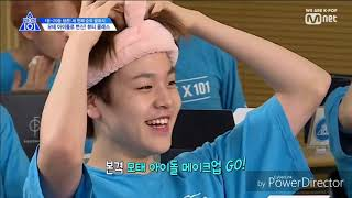 [PRODUCE X 101] FUNNY AND CUTE MOMENTS #4