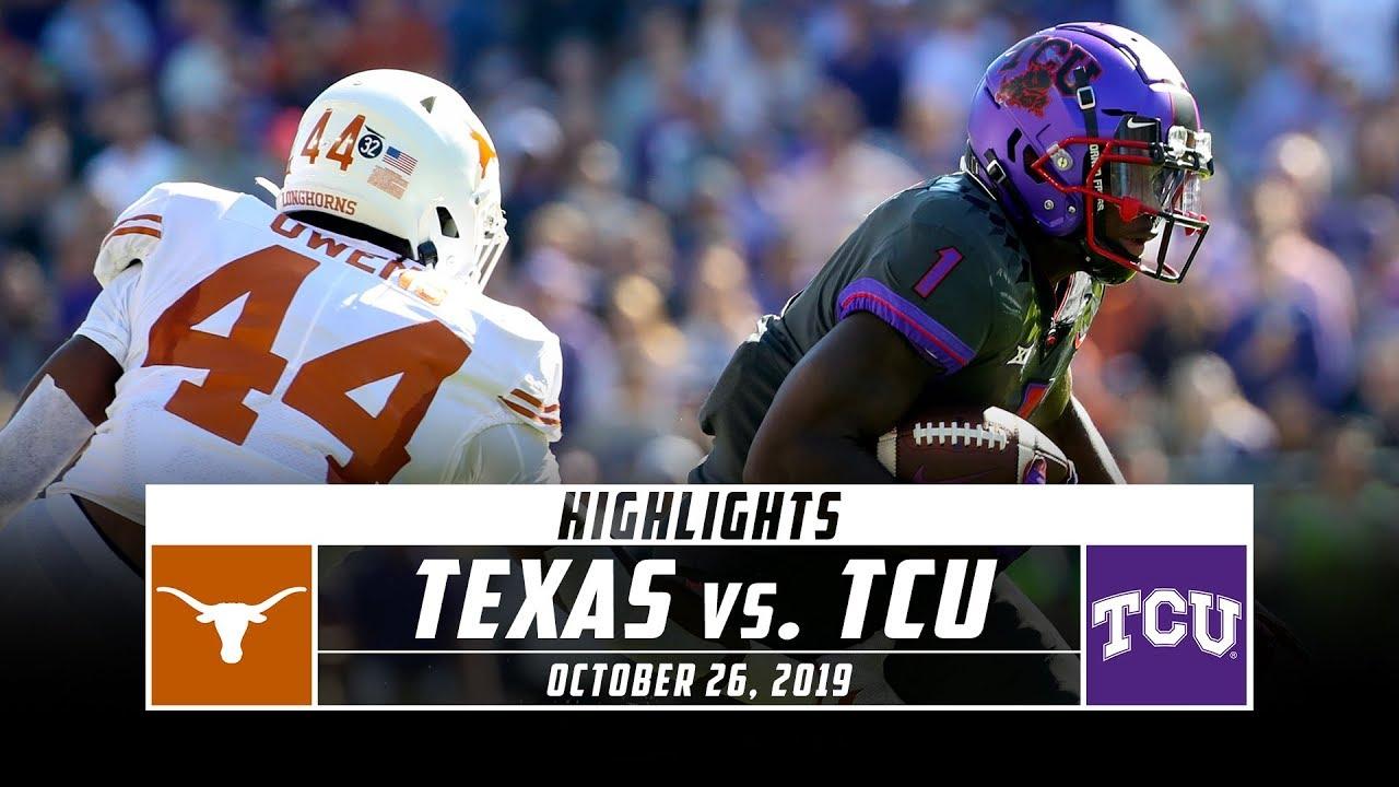 FOLLOW LIVE: No. 15 Texas at TCU