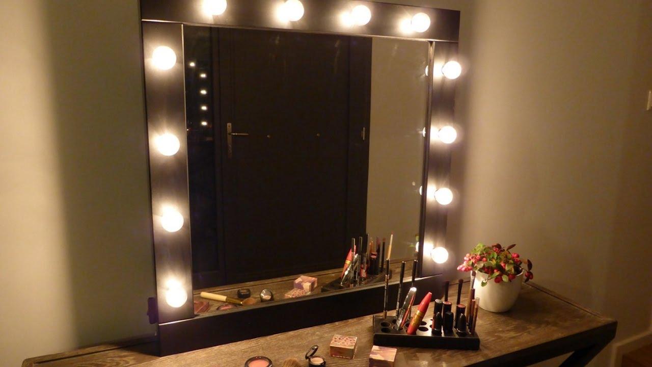 diy makeup vanity lighting saubhaya
