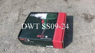 Обзор электрического гайковерта DWT SS09-24