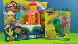 Play-Doh Town Ice Cream Truck, Sweet Shoppe Sundae Scoops