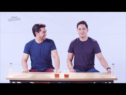 Spit or Swallow Challenge with Alden Richards and Wil Dasovich