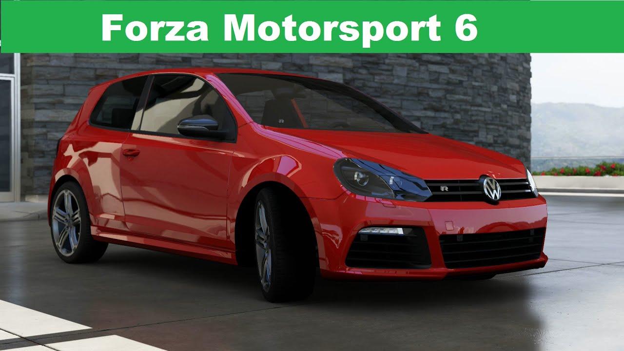 Forza Motorsport 6 2010 Volkswagen Golf R Youtube