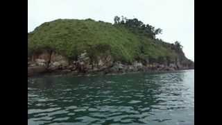 perjalanan liburan menuju pulau pandang dari pulau salah namo1 kab. Batu Bara.AVI
