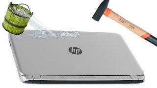 Две самых страшных вещи для ноутбука.