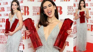 Dua Lipa Wins Brit Awards 2018 For Best Female Solo Artist | Full Speech After Winning
