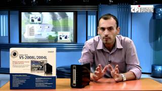 QNAP VS-2004 L  PRODUCT VIDEO REVIEW by CPI S.A