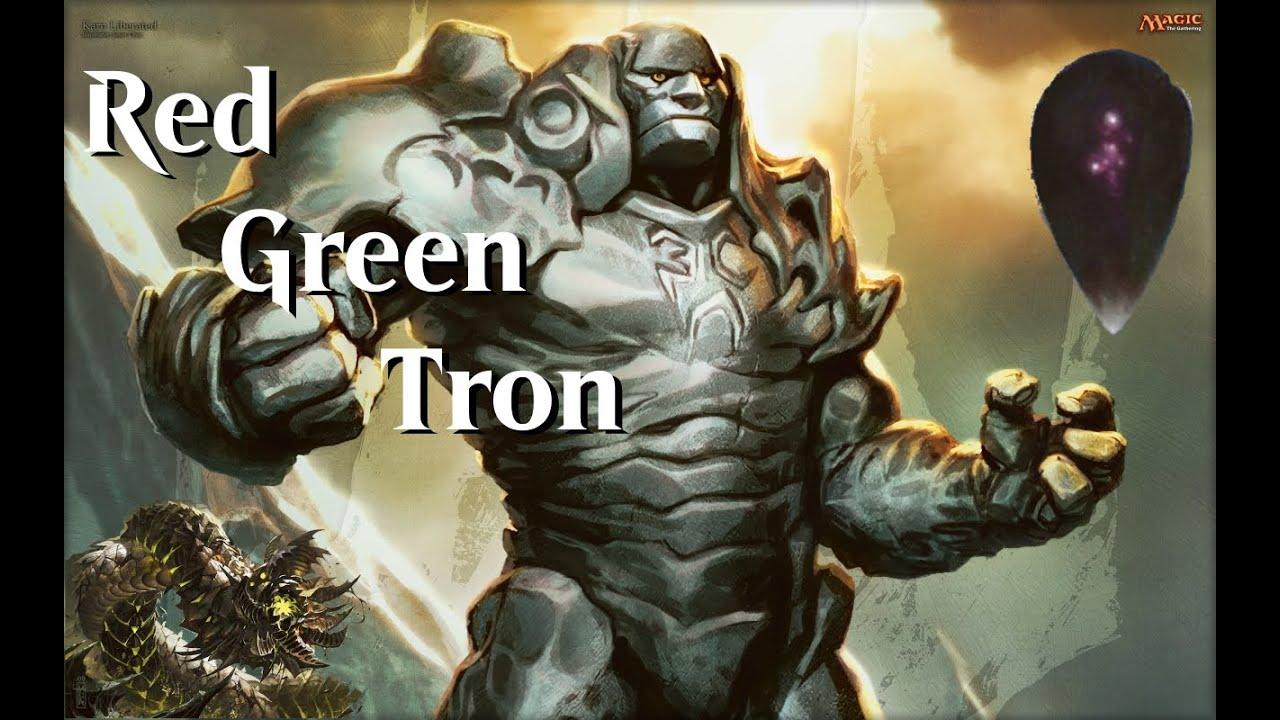 Mtg Modern Rg Tron Vs Scapeshift Youtube