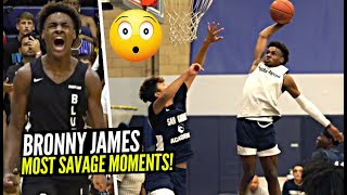 Bronny James 9th Grade Top 60 MOST SAVAGE Plays & Moments!!