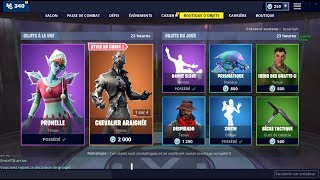 NEW SKIN PRUNELLE! BOUTIQUE OF DECEMBER 30, 2018 (FORTNITE ITEM SHOP 30/12/2018)