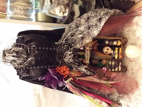 Witches Apothecary Dressform for Muriel