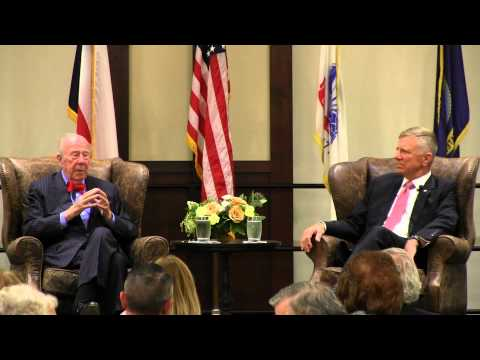 Part 1: 2015 Nimitz Dinner: George P. Shultz