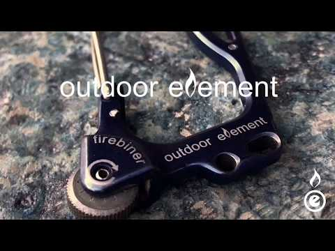 Features of the firebiner by outdoor element